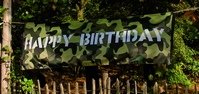 HAPPY BIRTHDAY BANNER ( 74 x 220 cm )