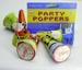 PARTY POPPERS( 4 stuks )