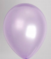 GLANSBALLON LILA
