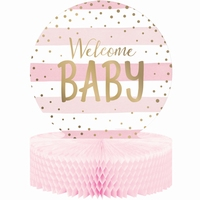 CENTRPIECE WELCOME BABY