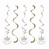 DECO SWIRLS UNICORN BABY