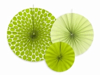 DECO ROZETTEN   APPLE GREEN