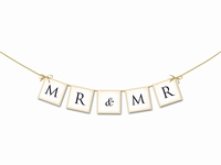 WEDDING BANNER MR & MR