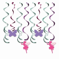 DECO SWIRLS FLORAL FAIRY