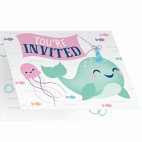 INVITATIONS NARWHAL